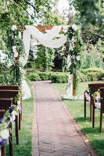 cheap wedding venues park wedding ceremony
