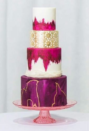 colored wedding cakes purple cake sewellsweets