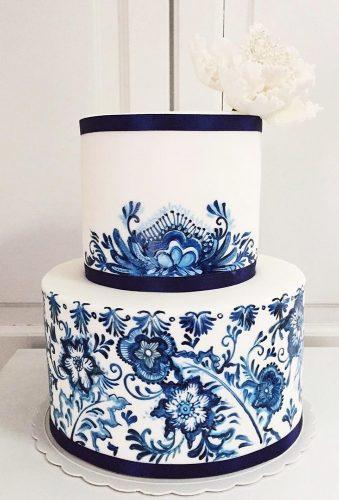 colored wedding cakes tender blue cake lilylolacakes