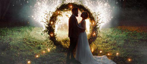 forest wedding theme featured image