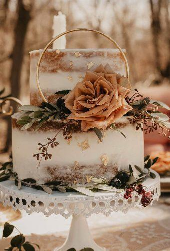 forest-wedding theme small wedding cake augustnysoncreative