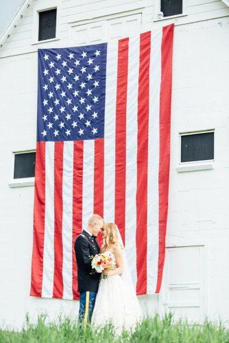 independence day wedding flag decor breannamckendrick
