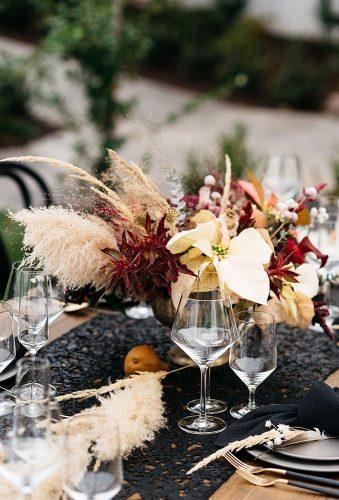 pampas grass wedding wedding caenterpiece carmensalazarphoto