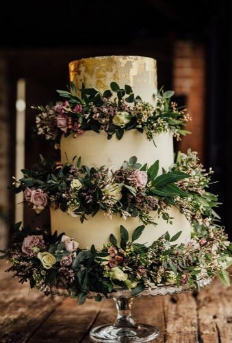 simple elegant chic wedding cakes boho wedding cake redonblondephotography