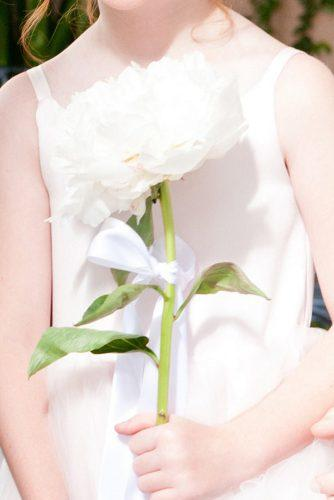 single stem wedding bouquets big peony alimondphotography