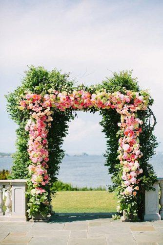 wedding arch decoration ideas floral arch Caroline Frost Photography
