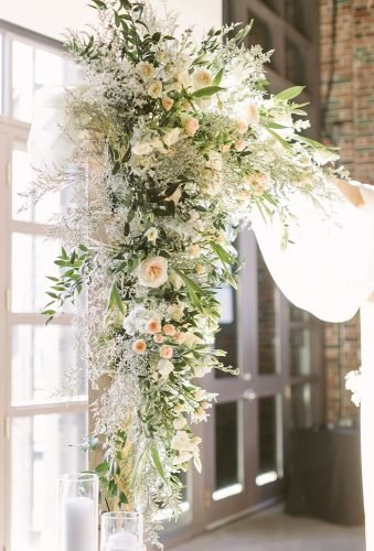wedding arch decoration ideas white wedding arch details delightfloraldesign