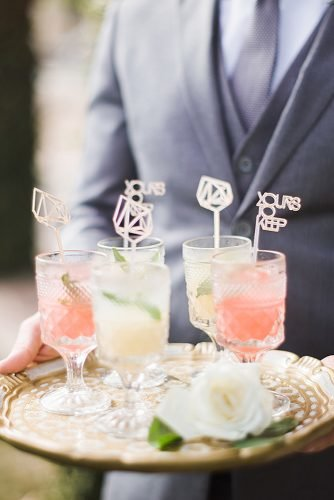 wedding ideas pre ceremony wedding cocktails