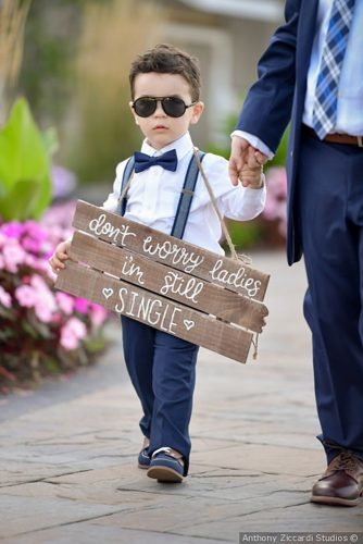 wedding ideas ring bearer sign
