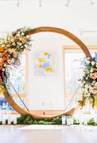 wedding wreaths flower circle in decor christina.kiffney weddings
