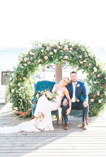 wedding wreaths flower greenery arch j annephotography