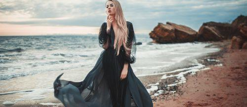 black wedding dresses main