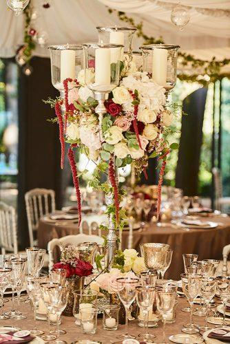 castle wedding table centerpiece Studiobonon Photography