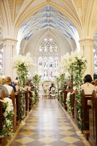 church wedding decorations amazing flower decor Jose Villa