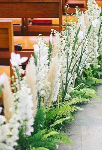 church wedding decorations floral line in aisle floralmagic