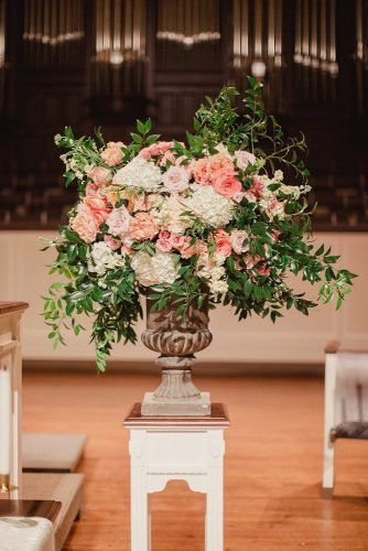 church wedding decorations flowers in church Shaun Menary Photography