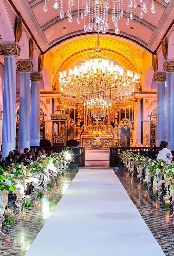 church wedding decorations gorgeuse aisle decor weddinglandtr