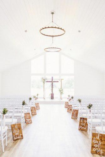 church wedding decorations white church decor dV Photography Houston