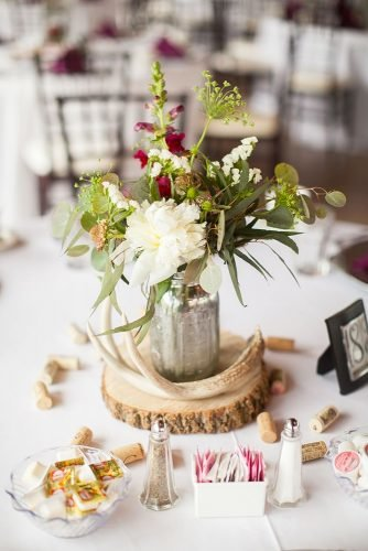 forest wedding theme forest centerpiece caynay photo