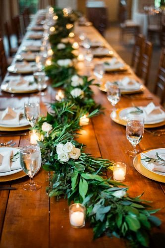 forest wedding theme forest table decor ashleypcox