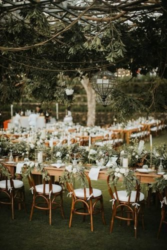 forest wedding theme reception decor iluminen