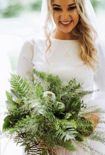 green wedding florals total green bouquet 602.ro