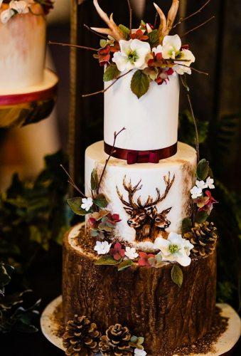 handpainted wedding cakes rustic cake emma and rich
