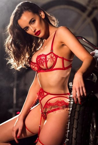 honeymoon lingerie hot red set honeybirdette