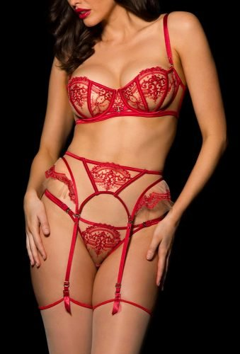 honeymoon lingerie red lingerie set honeybirdette