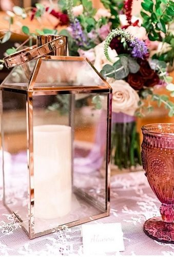lantern wedding centerpiece ideas gold metalic lantern alannaclaireevents