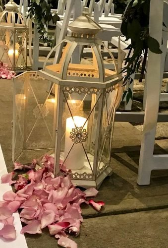 lantern wedding centerpiece ideas lantern in aisle gatti christine