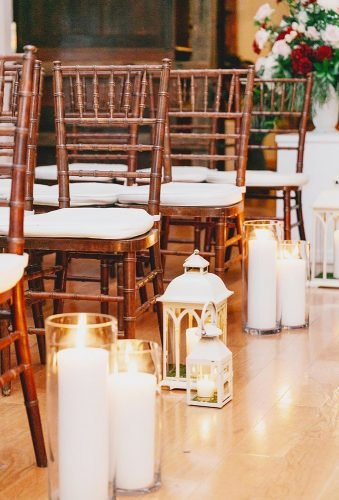 lantern wedding centerpiece ideas lantern in aisle plisfulplanning