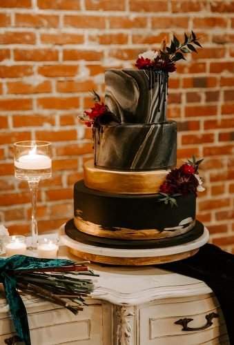marble wedding cakes dark rustic cake appleheadphotographydesign