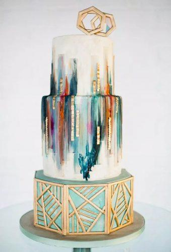 marble wedding cakes rustic cake Anushé Low Photography