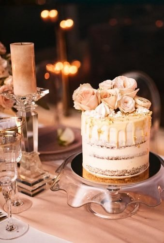 mini wedding cakes blush rustic cake sasa tomic
