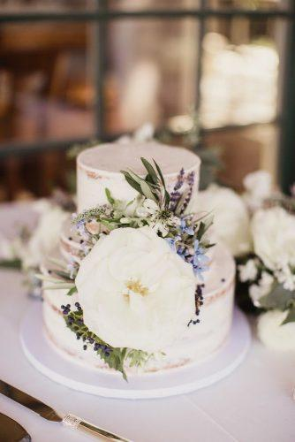 mini wedding cakes small cake big white flower Shaun Menary Photography