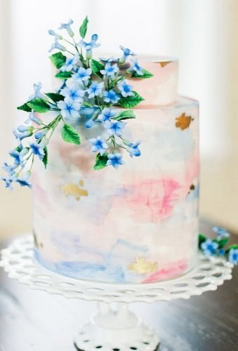 mini wedding cakes small pastel cake michellewhitley⁣