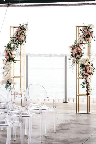 modern wedding decor modern ceremony decor winnercircleevents