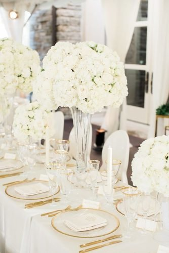 modern wedding decor white wedding decor Brandon Chesbro