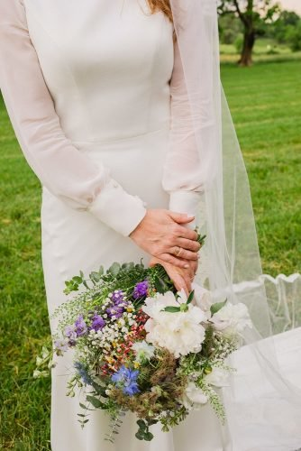 small wedding bouquets tender spring bouquet Kate Headley