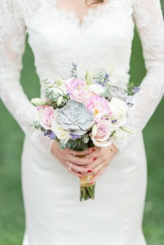 small wedding bouquets tender spring bouquet Tamara Gruner Photography