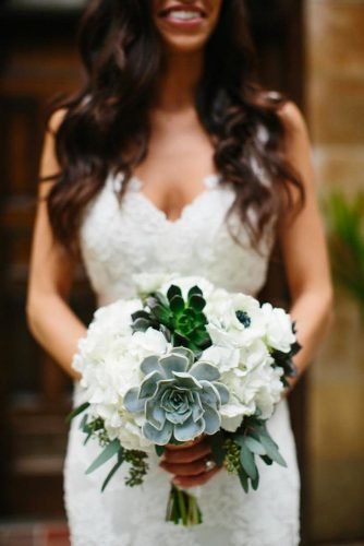 small wedding bouquets white green bouquet Kallima Photography