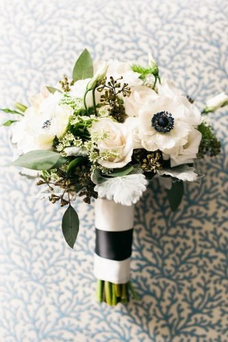small wedding bouquets wintre white bouquet Shea Christine Photography