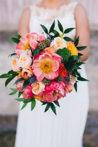 tropical wedding bouquets elegant tropical bouquet Rudy Marta Photography
