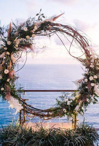 wedding floral moon gates creative wedding moon gates gusdephotography