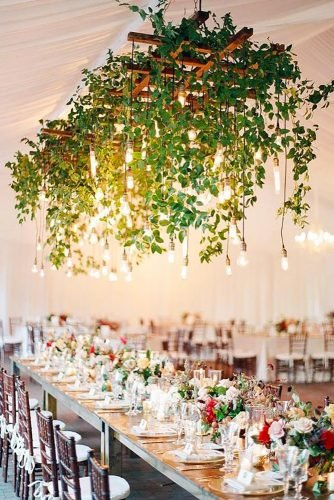wedding hanging installations hanging greenery blissbridalweddingphuket