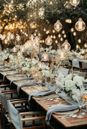 wedding light ideas light wedding reception thunderandlove​