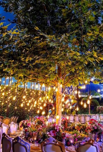 wedding light ideas wedding light on tree safadiehweddingplanner