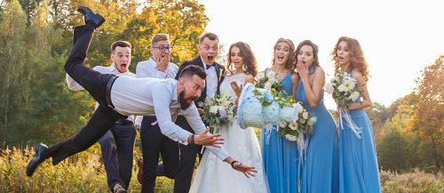 wedding memes wedding fail guests and newlyweds with cake featured