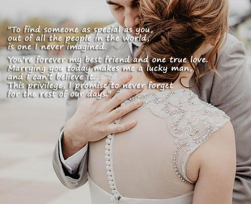 42 Wedding Vows For Him 2020 With Tips On Writing
